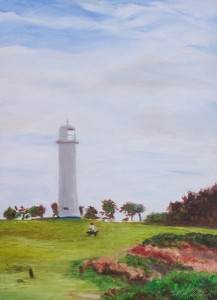 A40-Walking-the-Dog-Yamba-Lighthouse-900