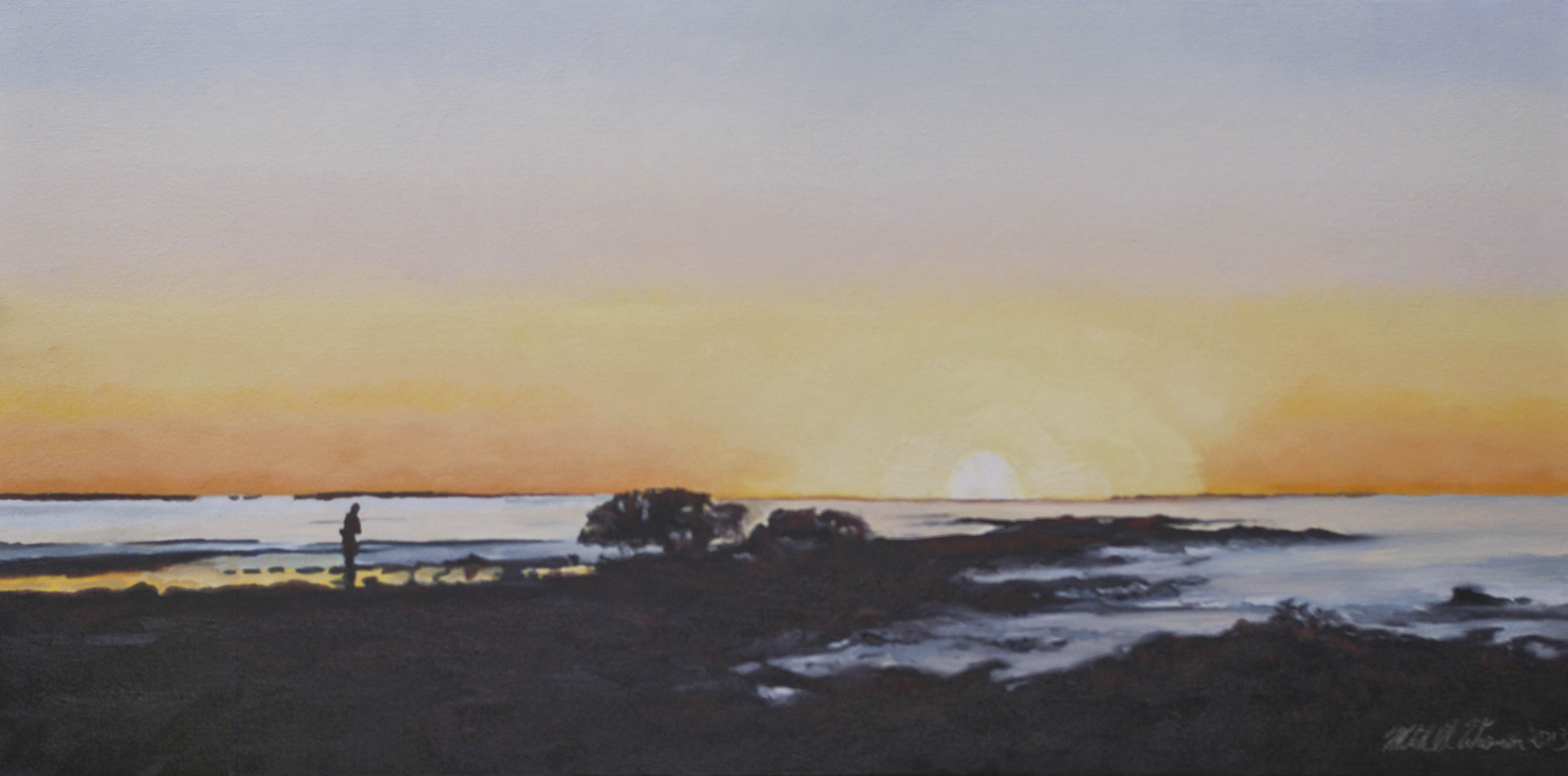 Burning Sunrise Peregian Beach 2